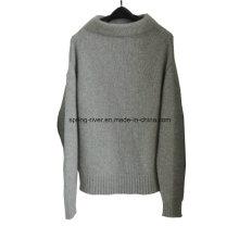 100% кашемир Оптовые трикотажные пуловер для женщин