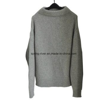100% Cashmere venta al por mayor de punto jersey para mujer