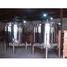 Réservoir de mélange sanitaire avec agitateur / réservoir de mélange d'aliments