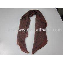 Красивый и модный шелковый шарф для женщин