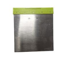 50# Carbon Steel  100mm  Putty Knife  Scraper Green Color PP Handle Paint Scraper