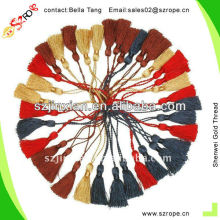 Silk Thread For Organza Cosmetic Bags,Mini Tassels
