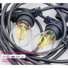 Сл-56 Открытый лампы IP65 Сид G45 E27 светодиодные ленты света для Рождественские украшения всепогодный