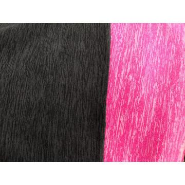 100% полиэстер пряжа умирает флис вязание ткань