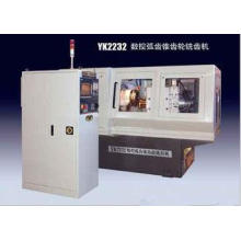 3 Axis CNC Helical Gear Cutting Machine , 15kva Automatic G