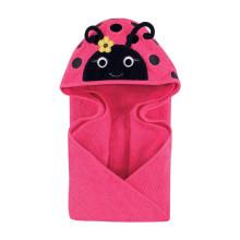комфортное детское полотенце с капюшоном для новорожденных