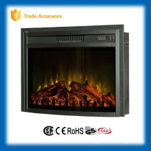 "110-120V 26"" infrared insert electric fireplace heater with fence"