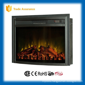 """110-120V 26"""" infrared insert electric fireplace heater with fence"""