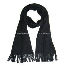 100% algodão moda malha lenço de inverno