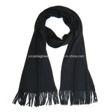 100% хлопок Модный вязаный зимний шарф