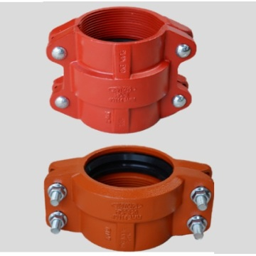 Ductile Iron Grooved HDPE Coupling