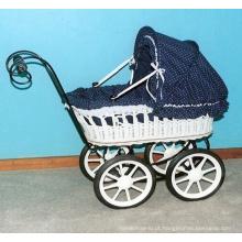 (BC-BA1007) Carrinho de passeio Handmade do bebê do salgueiro da alta qualidade