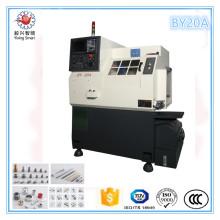 Máquina del centro de torneado By20 del torno de la función del CNC de la cama de la función del diámetro de 20m m
