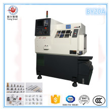 Dia 20mm Multi Function Slant Bed CNC Lathe By20 Turning Center Machine