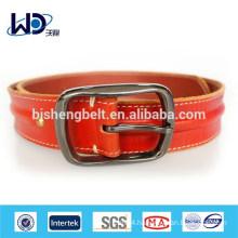 2014 Orange Durable Men Fashion Leather Belt
