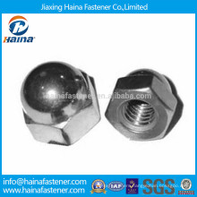 China Suppliers Stainless Steel 304 316 Hexagon Cap Nut DIN917