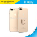 Icheckey new-design Finger metal mobile Ring Holder 360 degree universal car phone holder