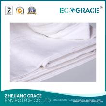 Теплоэнергетической отрасли ткани PTFE для сбора пыли карманный фильтр