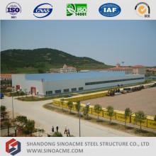 Atelier de structure métallique préfabriquée de grande hauteur