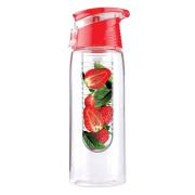Botella plástica de la infusión de frutas/botella de agua de la fruta infusor botella/de la fruta