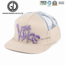 Gorra de béisbol ajustable 2016 de los deportes de la gorra de la manera del sombrero de la manera de Velcro del acoplamiento con el bordado