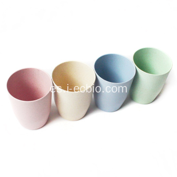 Venta al por mayor Wheat Straw Drinking Cups