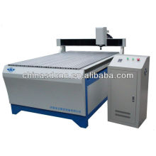 wood cnc router machine T-slot table and PVC board for woodworking