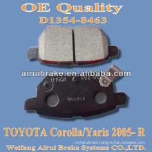 D1354 corolla 2005 brake pad