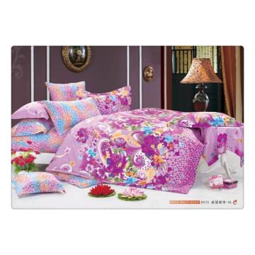 100 de algodón 40s 128 * 68 de lujo suave de impresión de pigmento de alta calidad niños ropa de cama