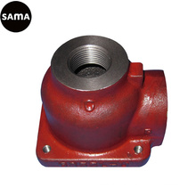 OEM Grey Iron Valve Body Sand Casting with Machining, Painting
