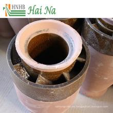 Separador de ciclón del colector de polvo de la purificación del gas del polvo de escape