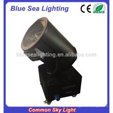 2/3/4/5/6/7 / 10KW luz do céu comum movendo cabeça pesquisa luz