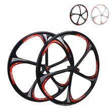 "26 ""Mountain Bike Bicycle Wheelset Front & Rear Wheels Magnesium Alloy"