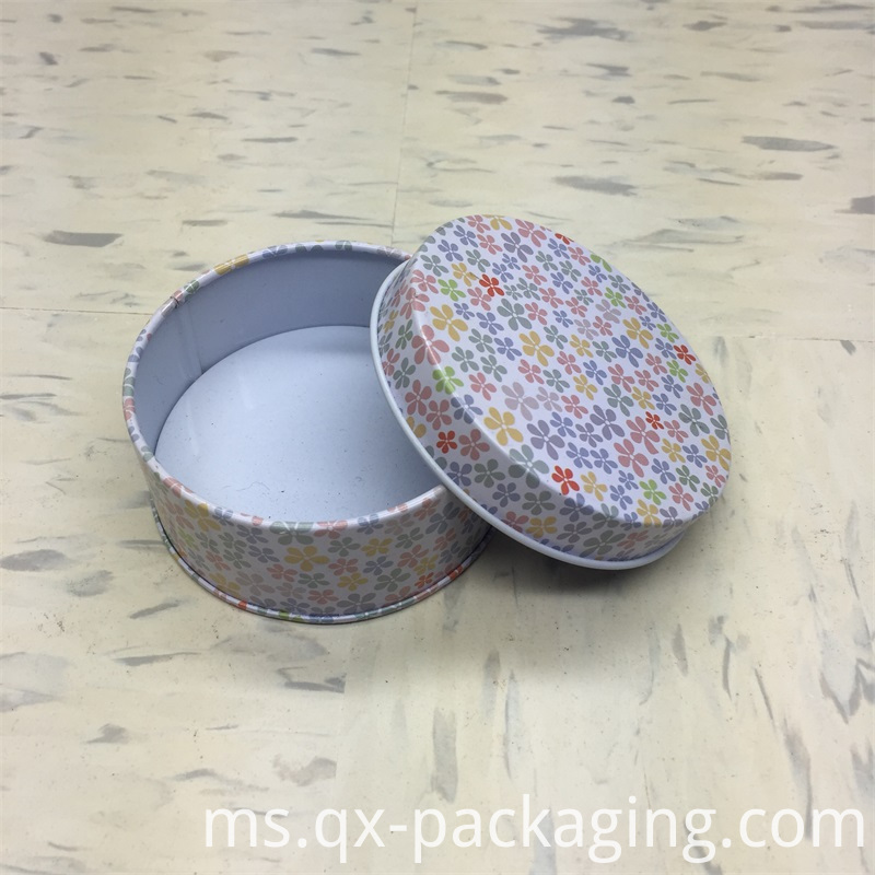 Round Tins With Lids