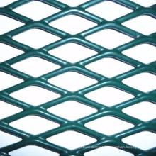 Cerca expandida revestida PVC do metal / cerca da estrada da estrada