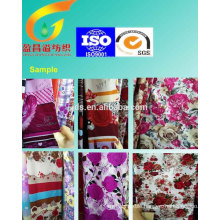 polyester printed fabric use for bedding set