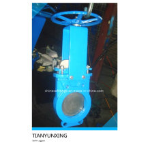 Hand Wheel Di Body Semi-Lugged Slurry Knife Gate Valve