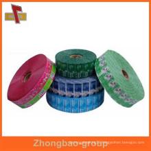 Top Quality custom PVC bottle shrink wrap sleeves in roll