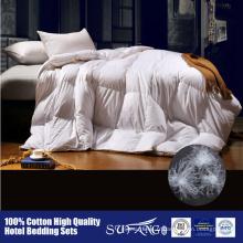 100% coton down-proof tissu usage à la maison et duvet de canard hôtel duvet d'oie duvet duvet d'oie couette