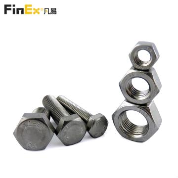 Wholesale Price Ss304 316 Din933 Metric Hexagon Bolt