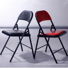 mesa de treinamento dobrável de alta qualidade cadeira de sala de reunião de escritório cadeira de dobramento de festa colorida / cadeira dobrável / cadeira de eventos