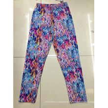 Ladies tricoté nouveau motif imprimé culotte pantalon