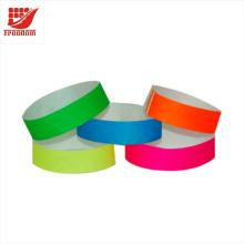 Werbeartikel Wegwerf billige Tyvek-Armbänder, Identifikations-Band