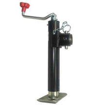 "2000 Lbs Pipe Mount Jack Topwind 10"" Travel Swivel Jack"