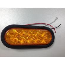 6 polegadas Oval LED cauda lâmpada para caminhão e reboque