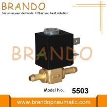 Válvula solenoide de latón a gas de la estufa de la máquina de soldadura 24VDC