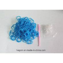 De Bonne Qualité Bande élastique de caoutchouc d'étiquette naturelle de Nr pour le fil