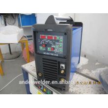 Máquinas de soldadura do inversor ac dc tig com ventiladores de refrigeração