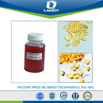 FACTORY PRICE OIL MIXED TOCOPHEROLS 70%-90%