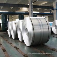 Rollo de bobina inferior de aluminio metálico